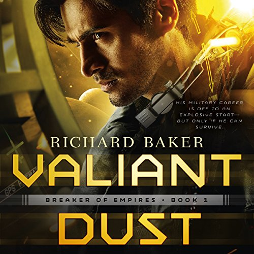 Valiant Dust audiobook cover art