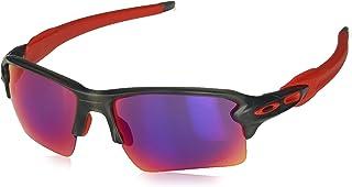 7ff9ec1295370 Oakley FLAK 2.0 XL OO9188 04 Cinza Fosco Lente Violeta Prizm Road Tam 59