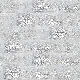 3D Madera Maciza Panel de Pared, DIY Papel Tapiz Retro de Autoadhesivo, Madera...