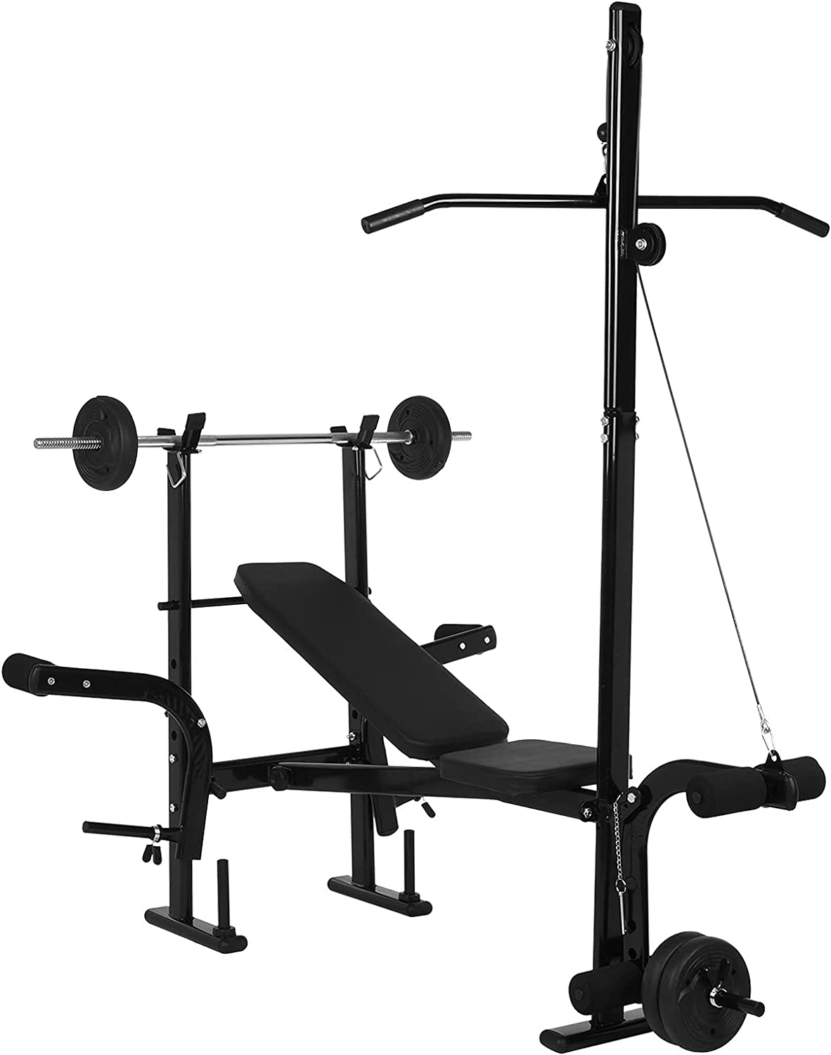 2 In 1 Rack Max 46% OFF Bench Set Lift Adjustable Popular products Weight Fi