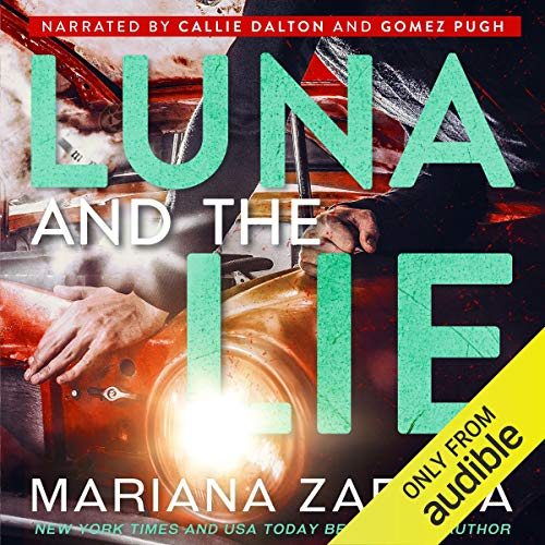 Luna and the Lie audiobook cover art