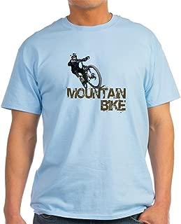 CafePress Mountain Bike Light T-Shirt Cotton T-Shirt