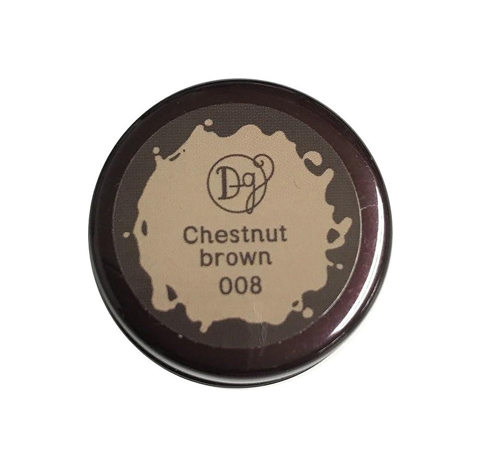 あからさま獣社会デコラガール カラージェル 008 チェスナットブラウン 3g