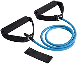Latex Fitness Pull Rope Elastic Rope Resistance Bands Resistance Tubes with Foam Handles, Exercise Tubes For Resistance Tr...