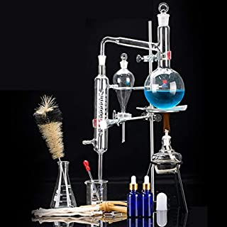 XIAOXIAO Laboratory Glass Instrument Kit, Industrial Chemistry, Essential Oil, Alcohol Distillation Device, Scientific Teaching, Laboratory Supplies