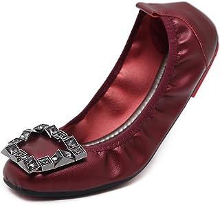 Dolly Schoenen Dames, Ballerina's Square-Teen Flat Shoes Soft-Soled Shoes Comfortabele Damesschoenen Geschikt Geschenk Voo...