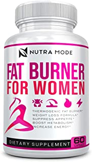 Natural Diet Pills That Work Fast for Women-Best Appetite Suppressant Weight Loss Pills for Women-Thermogenic Belly Fat Bu...