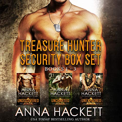 Treasure Hunter Security Box Set: Books 1-3 cover art