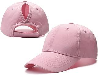 Kokkn Ponytail Baseball Cap Hat Ponycaps Messy Ponytail Adjustable Outdoor Cap Trucker Dad Hat Women Men