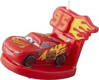 Wilton Disney Pixar Cars 3 Birthday Candle, Assorted
