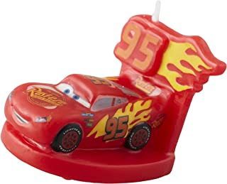 Wilton 2811-7110 Disney Pixar Cars 3 Birthday Candle, Assorted
