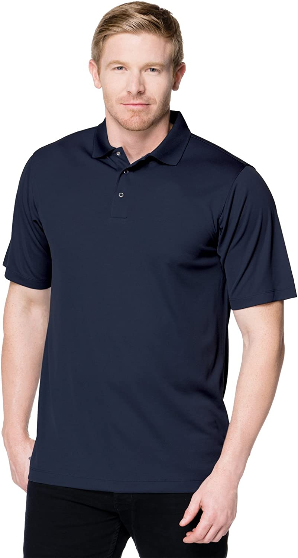 Tri-Mountain Men's K022 Vital Snap S/S Polo Shirt