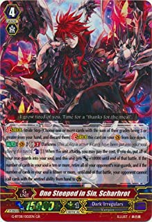 Cardfight!! Vanguard TCG - One Steeped in Sin, Scharhrot (G-BT08/002) - G Booster Set 8: Absolute Judgment