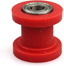 Wingsmoto Chain Roller 10mm ID Tensioner Guide Wheel Chinese Dirtbike Pit Bike Motorcycle (Red)