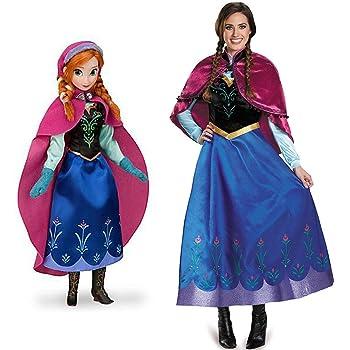 GACOSPLAY Frozen Anna Cosplay Disfraz Frozen Princess Anna Cap ...