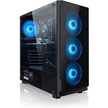 PC Gaming - Megaport Ordenador Gaming PC Intel Core i5-10400F 6X 2.90GHz • GeForce GTX1650 • 16 GB DDR4 • Windows 10 Home • 1TB HDD • WLAN • PC Gamer • Ordenador de sobremesa