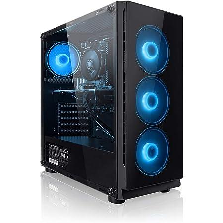PC Gaming - Megaport Ordenador Gaming PC AMD Ryzen 5 3500X 6x4.10GHz Turbo • GeForce GTX1650 4GB • 240GB SSD • 1000GB HDD • 16GB DDR4 2400 • WLAN • Windows 10 Home • PC Gamer • Ordenador de sobremesa