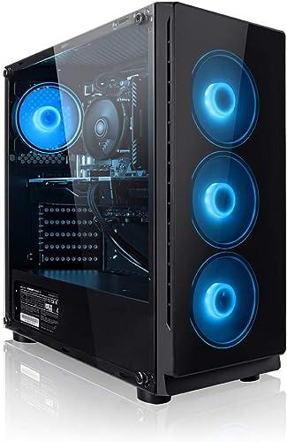 Megaport PC Gamer Vector AMD Ryzen 5 2600 6x3.40 GHz • GeForce GTX1650 • 16Go RAM • 1To • Windows 10 • Unité Centrale...
