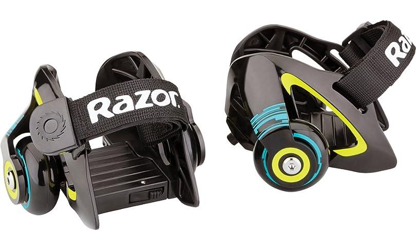 しっとりかなり昇進Razor Jetts Heel Wheels - Green