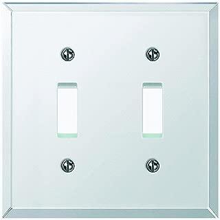 Jackson-Deerfield Mfg. 9MC102 Beveled Glass Mirror Switch Wall Plate