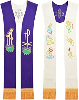 BLESSUME Priest Reversible Stole