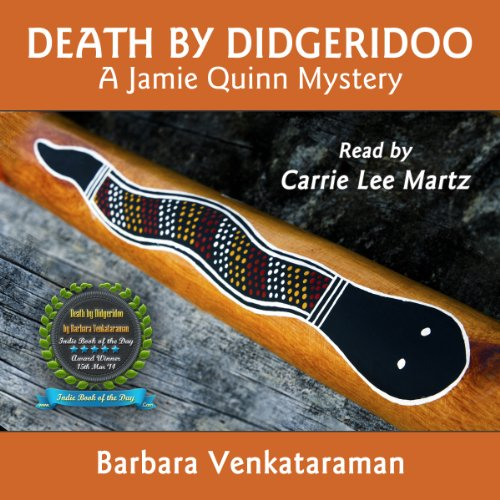 Death by Didgeridoo audiobook cover art