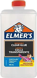 Elmer's Glitter 胶水 PVA Glue 946 ml 透明