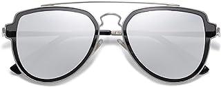 SOJOS Fashion Polarized Aviator Sunglasses for Men Women Mirrored Lens SJ1051