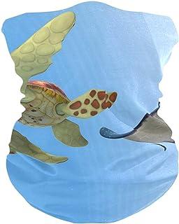 Turtle Pixar Bavaclava Face Mask for Women Bandana Neck Gaiter Half Face Masks Cold Weather Men kids