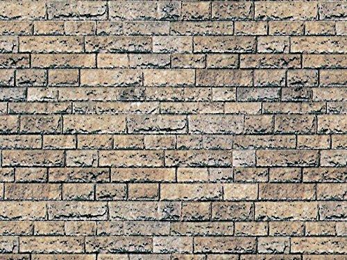 Vollmer 46038 Mauerplatte Basalt aus Karton