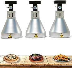 Chilechuan Food Warmer, Food Heat Lampe chauffe, Gardez la nourriture et la vaisselle Lampe de chauffage infrarouge Cuisin...