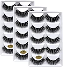 3D Mink lashes Wholesale 15 Pairs of Natural False Eyelashes 3D Mink Eyelashes Luxurious Wispy Natural Thick Long Eye Lashes Pack