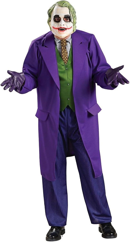 Generique Offizielles Joker-Kostüm Dark Night für Erwachsene XL