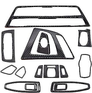 Atreus Carbon Fiber Trim Frame for BMW F30 F35 3 4 Series Interior Decorative Cover Stickers(1set)