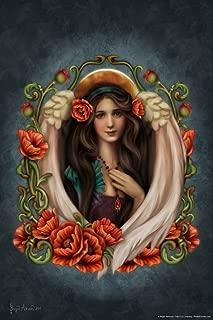 Poppy Angel by Brigid Ashwood Cool Wall Decor Art Print Poster 12x18