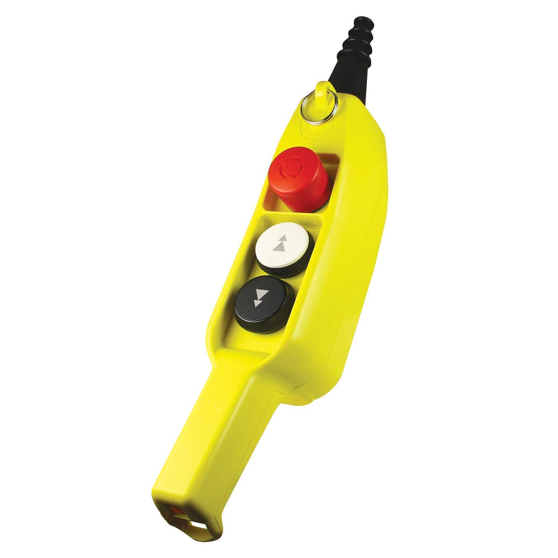 ASI P03D2 3 Reservation Button Ergonomic Grip Station Pendant Em sale Speed Two