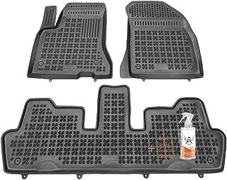 + Limpiador de Plasticos Regalo Desde 2016 Alfombrillas de Goma Compatible con Toyota C-HR