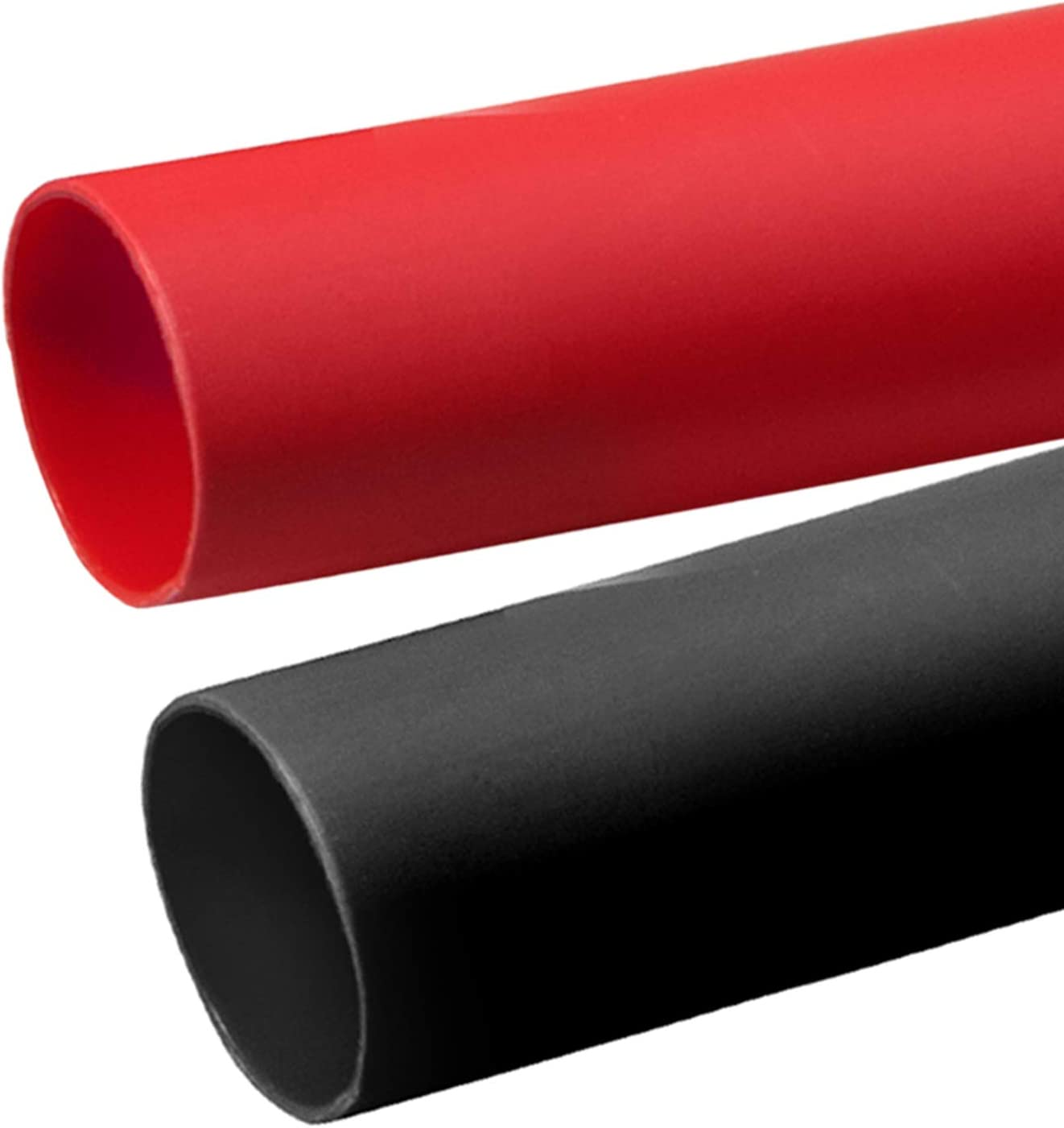 2 Pcs 3 4 inch 3:1 Tulsa Mall Over item handling Dual Shrink Wall Tubing La Heat Adhesive Kit