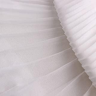 Best pleated chiffon fabric Reviews