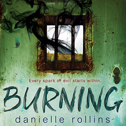 Burning audiobook cover art