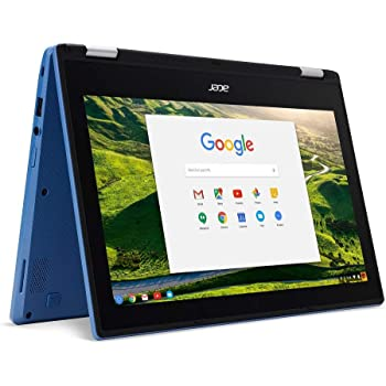 "Acer Chromebook R11 CB5-132T-C67Q Touch Screen Chromebook with Intel Celeron N3060 Processor, 11.6"" IPS Multitouch Screen 4GB Memory, 32GB SSD and Google Chrome OS"