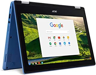 """Acer Chromebook R11 CB5-132T-C67Q Touch Screen Chromebook with Intel Celeron N3060 Processor, 11.6"""" IPS Multitouch Screen ..."""