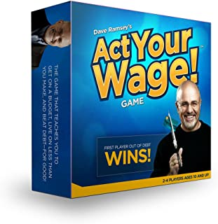 Dave Ramsey's ACT Your Wage! Board Game