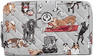 Vera Bradley RFID Turnlock Wallet in Best in Show Signature Cotton