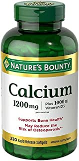 Nature's Bounty Absorbable Calcium 1200mg, Plus 1000IU Vitamin D3
