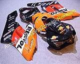 Venta caliente, cheap 04 05 CBR 1000 RR para CBR 1000RR 2004 2005 rojo Repsol bicicletas motocicleta Fairings Kit (moldeado por inyección.)