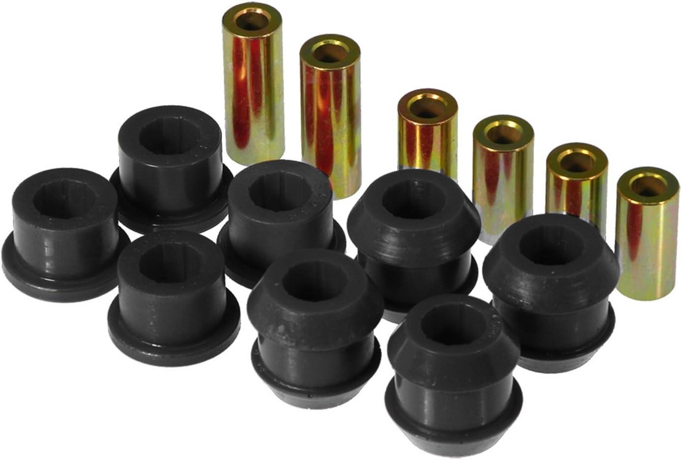Prothane 8-206-BL Black Front Bushing Bombing free shipping Kit Cheap mail order shopping Arm Control