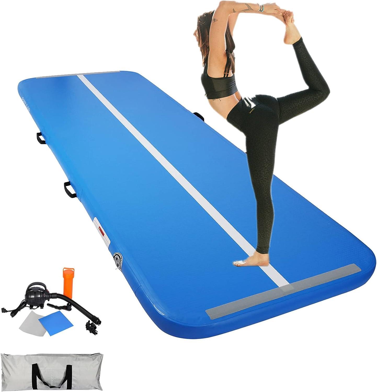 Mofopakoo Max 76% OFF 10ft Inflatable Air San Jose Mall Gymnastics Training for Mat kids
