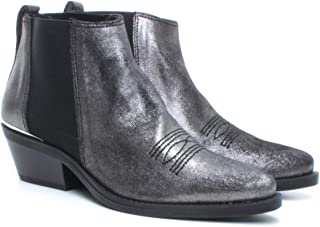 Bottes Mujer JANET & JANET 44213 Odessa Canna Fucile Cuero Gris