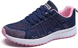 Women Running Shoes Lightweight Sports Tennis Athletic Jogging Walking Training Fitness Gym Sneakers